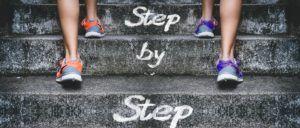 Die Macht der kleinen Schritte